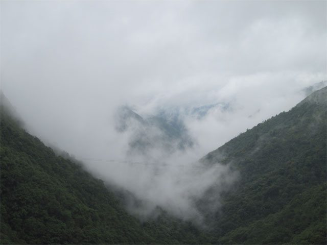 Mountain Peaks of Cherrapunji
