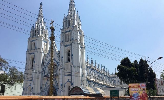 St. Mary's cathedral at Madurai