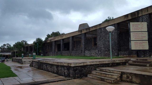 दादा साहेब फाल्के म्यूजियम के परिसर का एक दृश्य