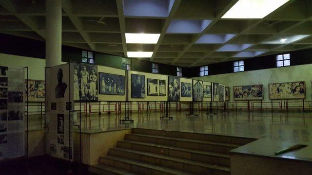 दादा साहब फाल्के म्यूजियम के अन्दर का परिदृश्य