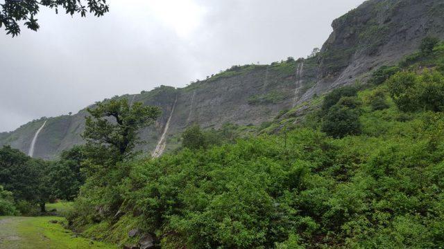 अंजनेरी पर्वत के खूबसूरत झरने