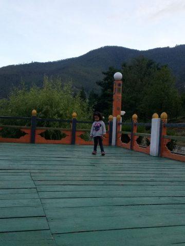 Machan near Wangchu River