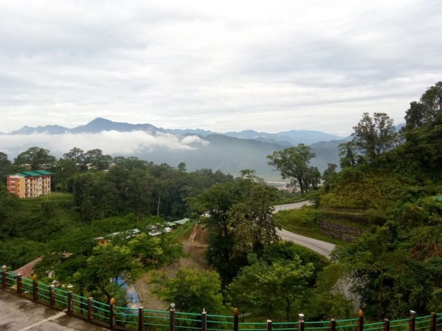 View from Pelling Resort