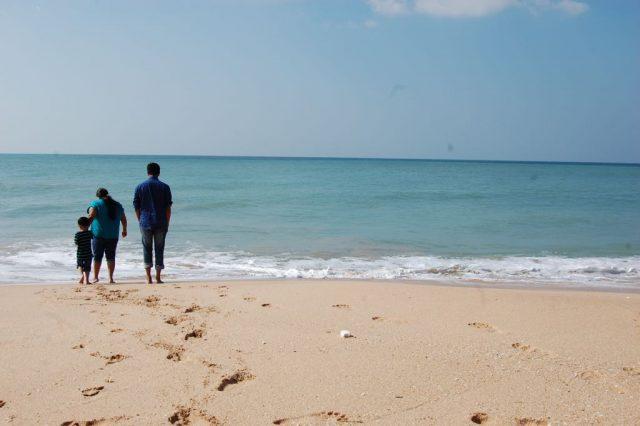 Sangutharai Beach merging