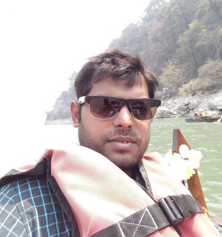 A Selfie in Nainital Lake