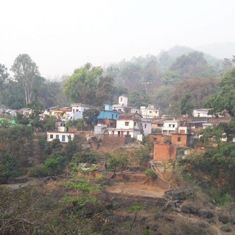 A Small Village on the way to Bhimtal