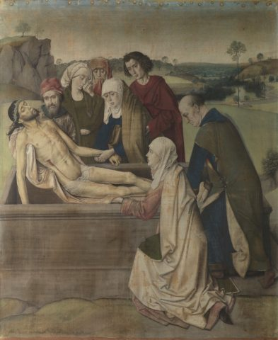 Dieric Bouts - The Entombment Artron