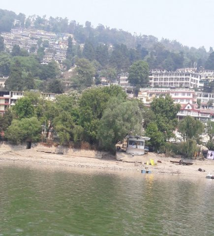 Nainital Mountains filled with the Hotels
