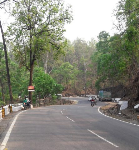 Perfect Road to Nainital