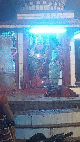चौबीस खम्बा , माता मंदिर
