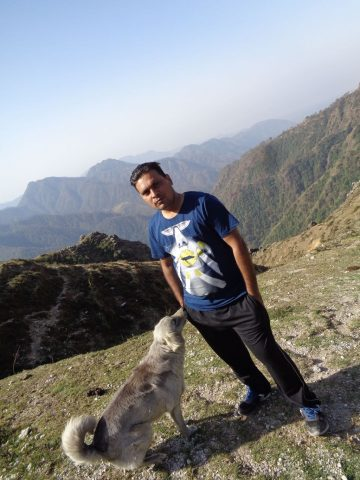 Small Trekking Near Dhanaulti