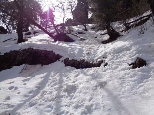 Hatu Peak Snow all around