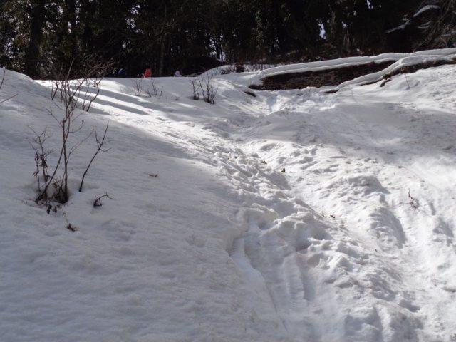Hate Peak - Snow everywhere
