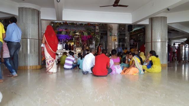 जीवदानी माता मंदिर का एक दृश्य
