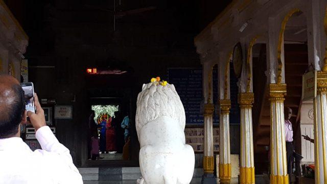 मंदिर का मंडप