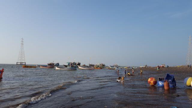 अरनाला समुद्र तट का एक दृश्य