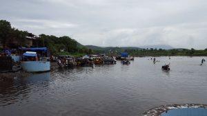 तन्सा नदी का एक दृश्य