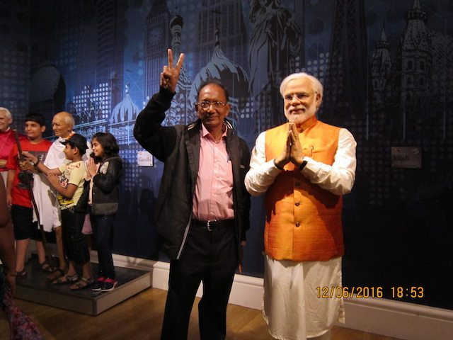PM Modi at Madame Tussauds Museum