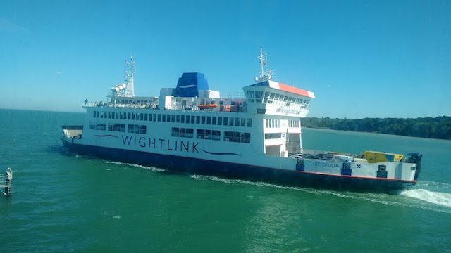 Whitelink ferry, our carrier