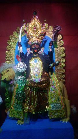 Singhavahini Kali