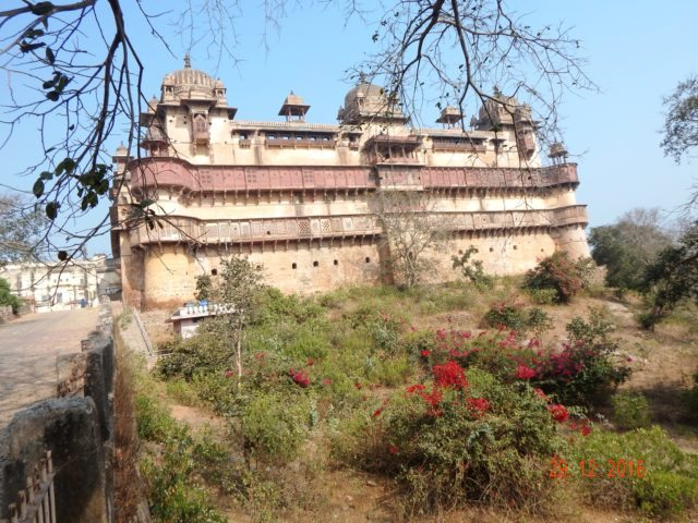 Jahangir Mahal from the outside  Photo courtesy – M M Philip
