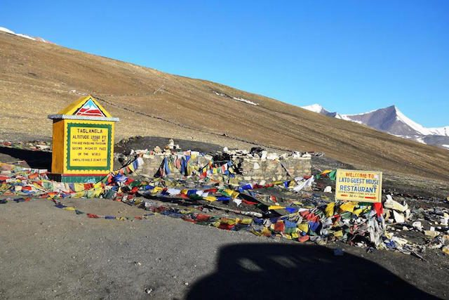 Tanglang-La pass, smooth road