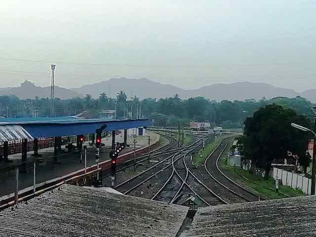 New Bongaigaon station