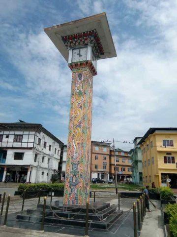 Clock tower of Gelephu