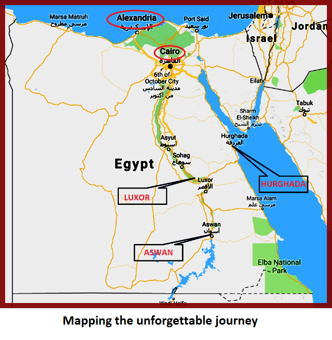 EGYPT – WHERE IT ALL BEGINS ( PART 2)