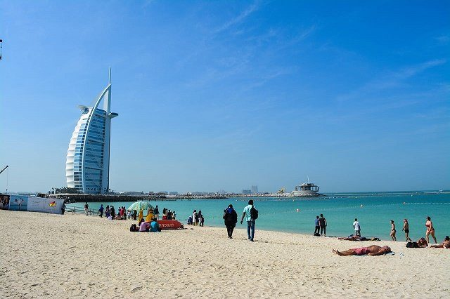 Burj Al Arab from Jumeira Beach